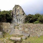 Arte rupestre en Machu Picchu