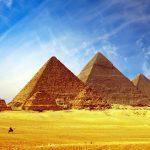 propósito de la pirámide de Keops-Guiza, Egipto