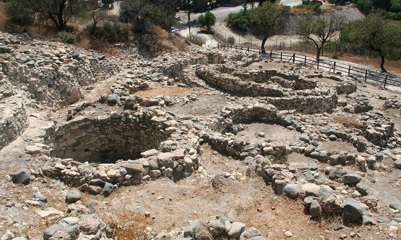 edificios de 11600 años en Chipre