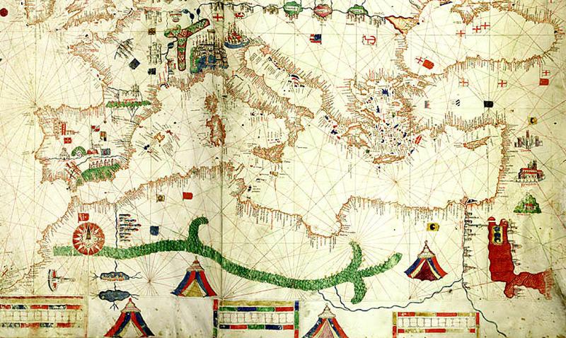 mapa de Albino de Canepa