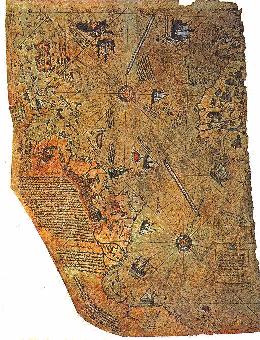 Mapa de Piris Reis
