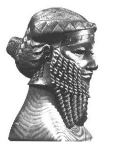 busto de Sargon I el grande