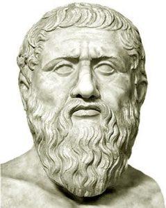 Busto de Platón (427 - 347 AC)