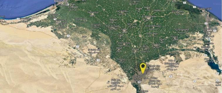 Hallan un nuevo templo de Ramsés II cerca de El Cairo